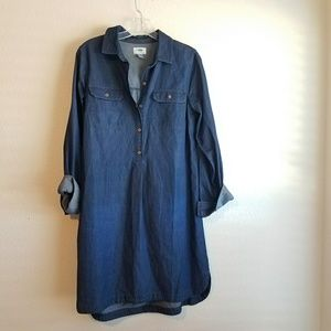 🇺🇸Denim Dress - Old Navy Chambray - Size: M Tall
